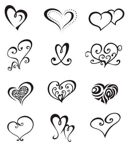 Small Star Tattoo Designs on Org Tattoo Designs Unique Heart Designs1 Htm Target